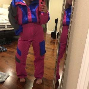90's ski suit